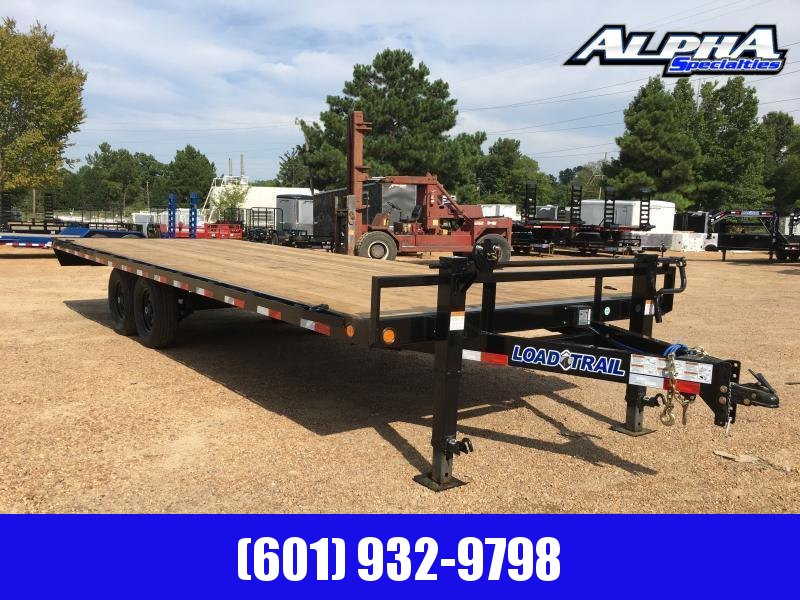 "2020 Load Trail 102"" x 24' Deck Over Pintle Hook Equipment Trailer"