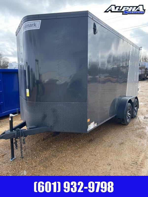 2020 Haulmark 7' x 14' Transport V-Nose TSV714T2 Enclosed Cargo Trailer 7K GVWR