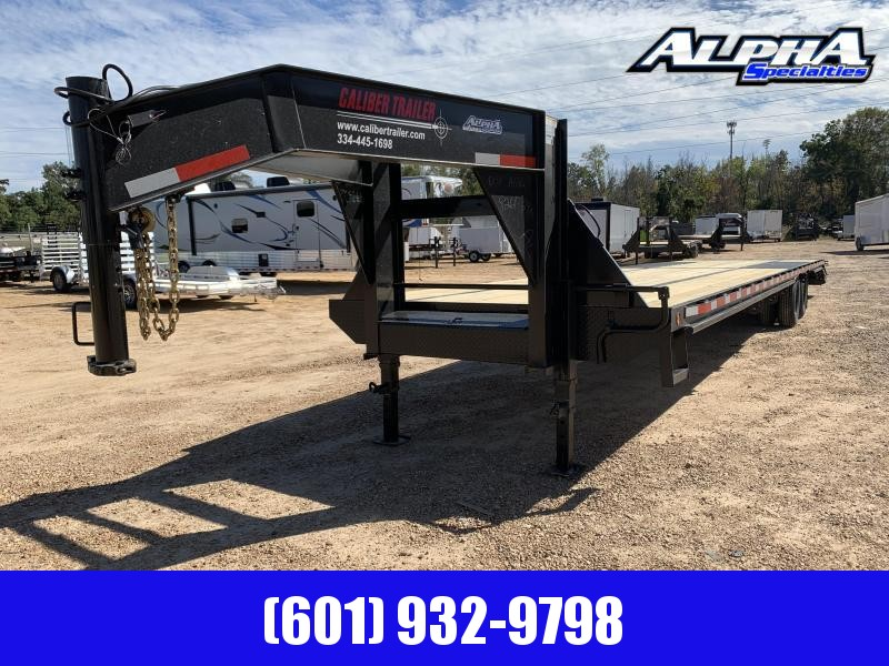 2020 Caliber 8.5' x 40' Gooseneck / Equipment Trailer