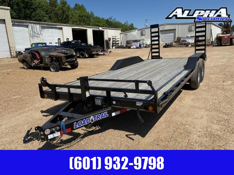 "2020 Load Trail 102"" x 20' Tandem Axle Carhauler / Racing Trailer 14K GVWR"