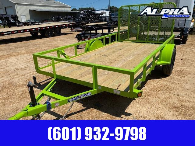 "2020 Load Trail 77"" x 12' Single Axle (2"" x 3"" Angle Frame) Landscape Utility Trailer 3K GVWR"