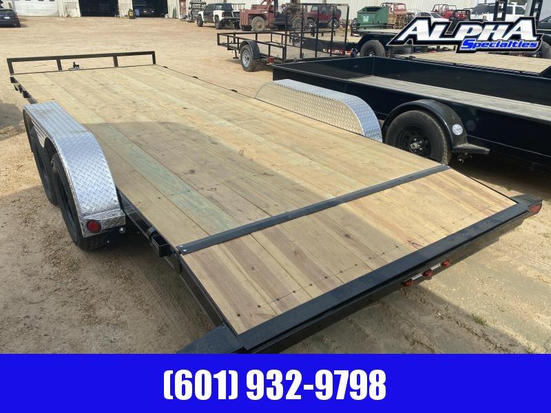 "2020 Load Trail CH07 Tandem Axle Carhauler 83 x 20 Car / Racing Trailer w/ 3"" x 5"" Angle Frame 7K GVWR"