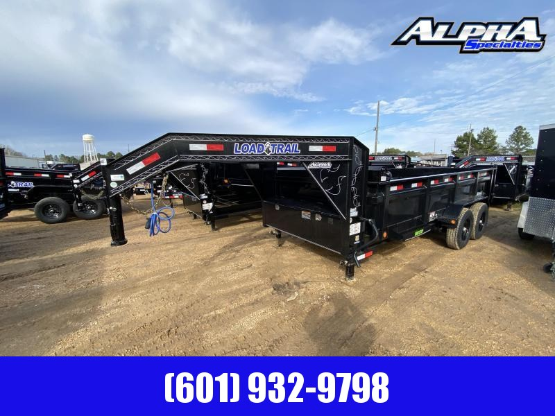 2020 Load Trail Tandem Axle GD14 83 x 16 Gooseneck Dump Trailer 14K GVWR