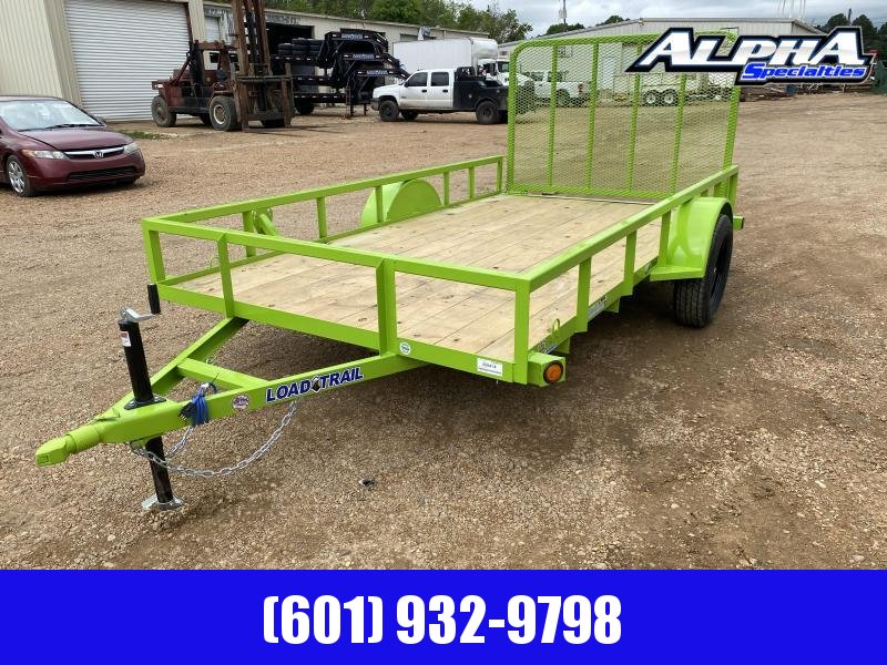 "2020 Load Trail 77 x 12 Single Axle (2"" x 3"" Angle Frame) Landscape  Utility Trailer 3K GVWR"