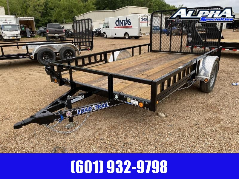"2020 Load Trail Single Axle Landscape 83 x 12 (4"" Channel Frame - SB8312031) Utility Trailer 3k GVWR"