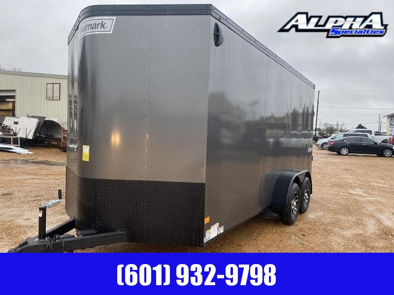 2020 Haulmark 7' x 16' TSV16T2 Enclosed Cargo Trailer 7K GVWR