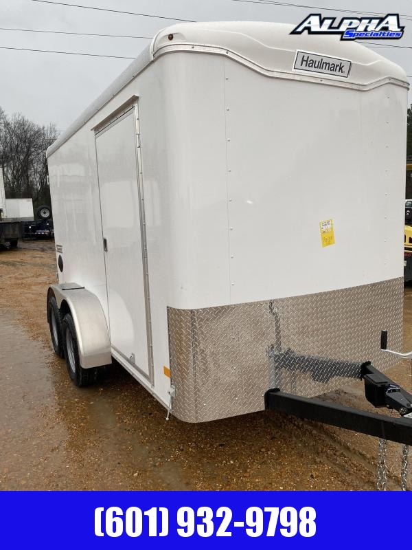 2020 Haulmark 12' x 6' TS612T2 Enclosed / Cargo Trailer 7K GVWR