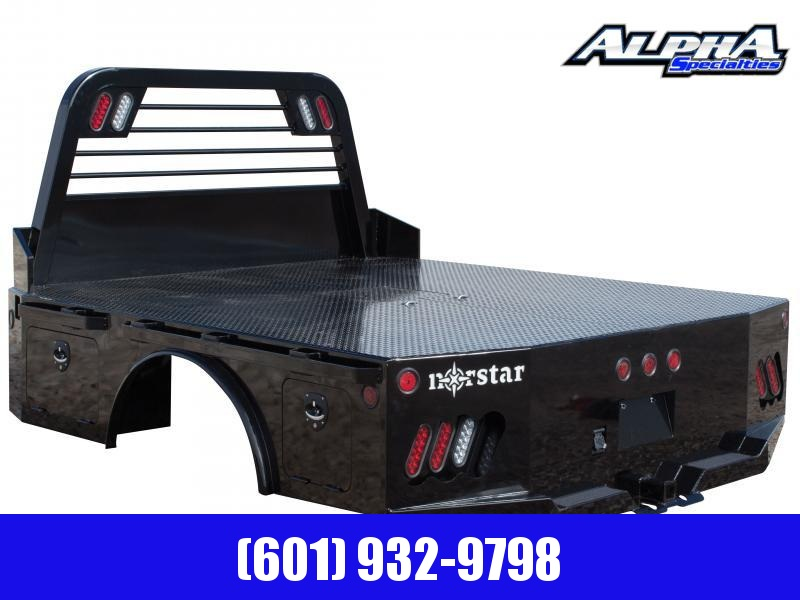 """2020 Norstar Skirted Truck Bed 8' 6"""" x 97"""" - CTA 56"""" W/ 37.75"""" HR 2.5"""" Rec Hitch Chrome Accent"""