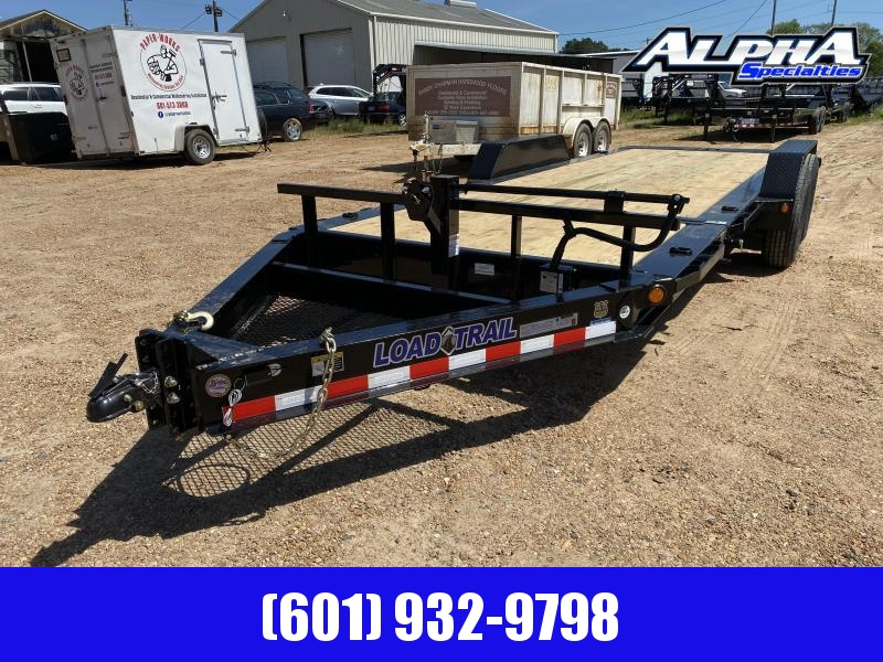 "2020 Load Trail 81.5"" x 20 Tandem Axle Tilt Deck I-Beam Frame Gravity  Equipment Trailer 14K GVWR"