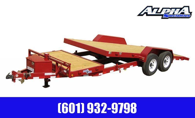 "2020 Load Trail 81.5"" x 20 Tandem Axle Tilt Deck I-Beam Frame Gravity  Equipment Trailer 14K GVWR"