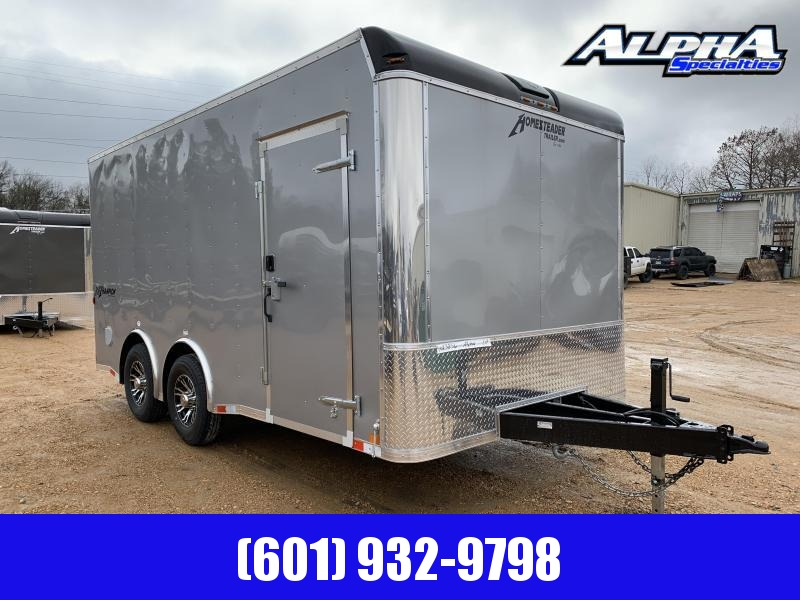 HEAVY DUTY 2019 8.5 x 16 Tandem Axle Enclosed Cargo Trailer 14K GVWR