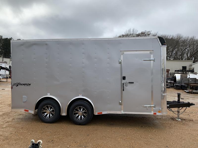 HEAVY DUTY 2019 8.5 x 16 Tandem Axle Enclosed Cargo Trailer 14K GVWR