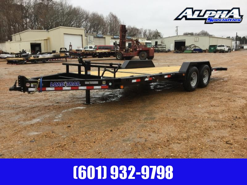 "2020 Load Trail 83"" X 20' Tilt-N-Go Tandem Axle Tilt Deck I-Beam Frame Equipment Trailer"