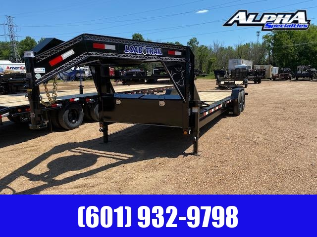 "2020 Load Trail 83"" x 24 Tilt-N-Go Gooseneck Tandem Axle Tilt Deck I-Beam Frame Equipment Trailer 14K GVWR"
