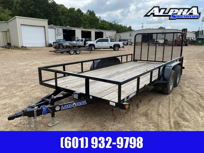 "2020 Load Trail 83"" x 16' Tandem Axle (2"" x 3"" Angle Frame) Utility Trailer 7K GVWR"