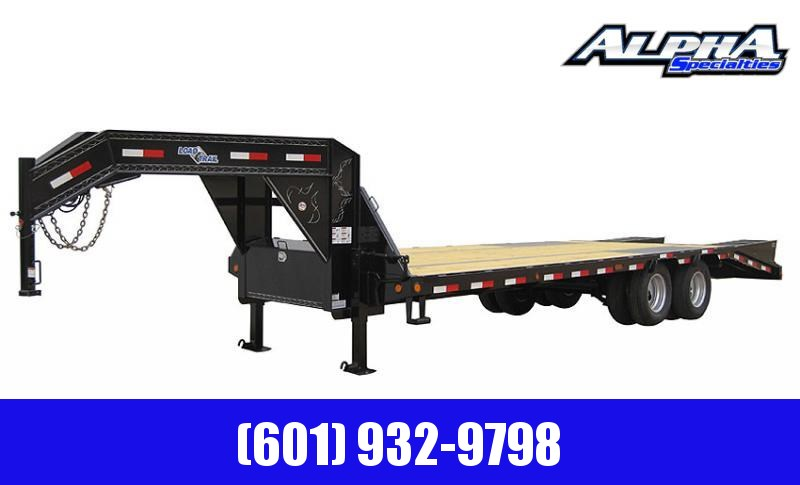 "2020 Load Trail 102"" x 40' Tandem Low-Pro Gooseneck w/Under Frame Bridge & Pipe Bridge 22K GVWR"
