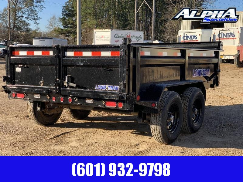"2020 Load Trail DT14 83"" x 14' w/ 24"" Sides Tandem Axle Dump Trailer 14K GVWR"