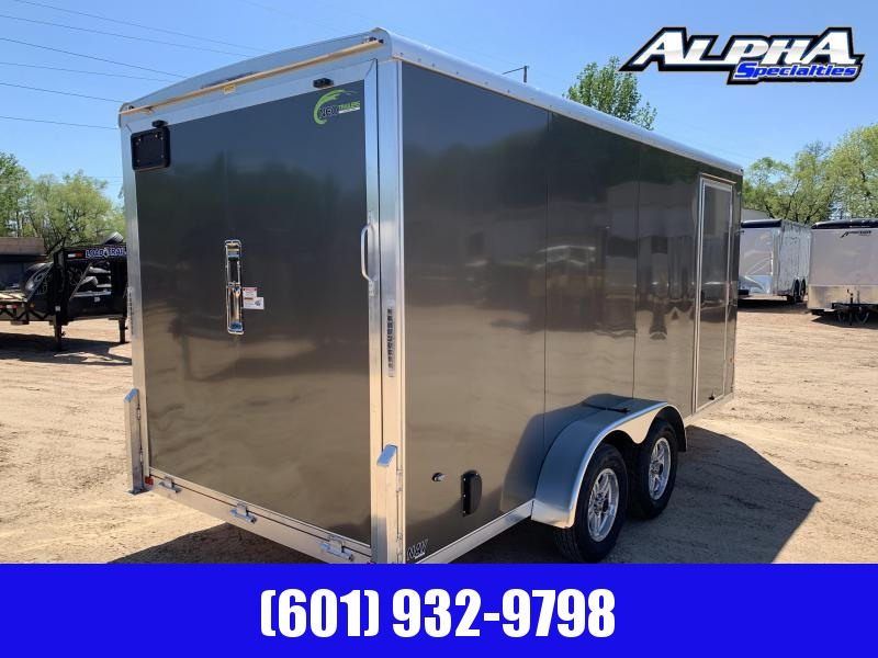 2019 NEO 7 x 16 Aluminum Enclosed Cargo Trailer 7K GVWR