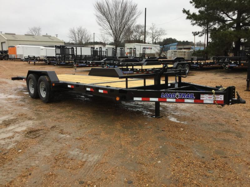2020 Load Trail GG202 Equipment Trailer