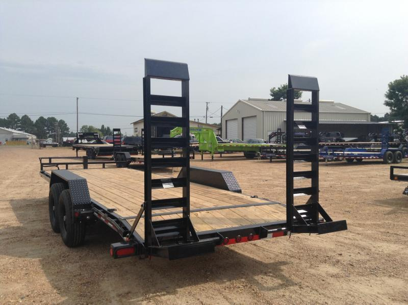 "2019 Load Trail 83"" x 22' Tandem Axle Carhauler / Racing Trailer"