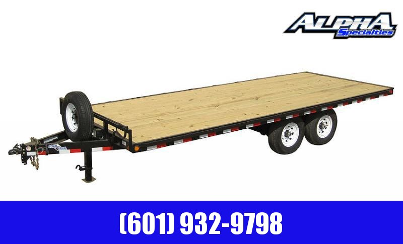 2020 Load Trail DK14 - Pintle Hook Deck Over 102 x 20 Equipment Trailer