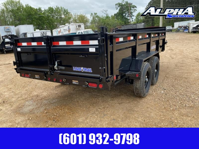 "2020 Load Trail DT14 83"" x 16' Tandem Axle Dump Trailer 14K GVWR"