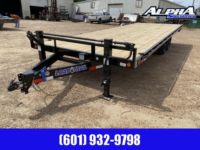 2020 Load Trail DK14 - Pintle Hook Deck Over 102 x 24 Equipment Trailer