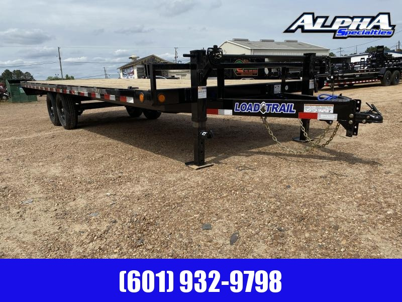2020 Load Trail DK14 - Pintle Hook Deck Over 102 x 24 Equipment Trailer