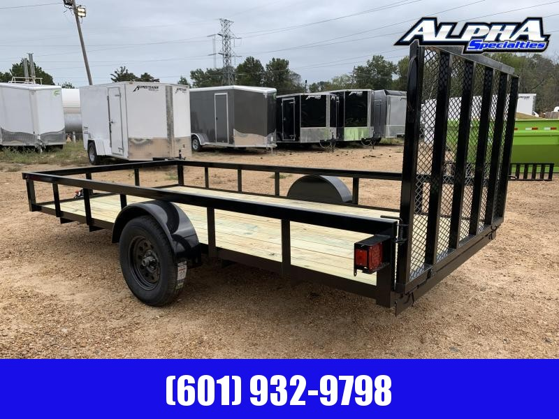 2019 Caliber Trailer Mfg AG654 Utility Trailer