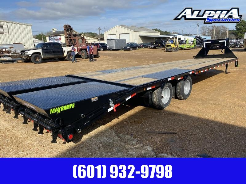 2020 Load Trail GP24 Tandem Low-Pro 102 x 35 Gooseneck Equipment Trailer 24K GVWR