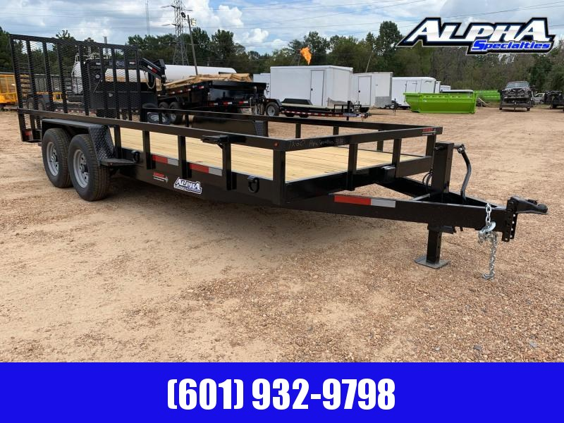2019 Caliber II 20 x 7 Equipment Trailer
