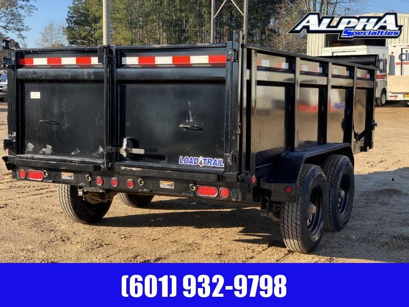 "2020 Load Trail DT14 83"" x 14 w/ 36"" Sides Tandem Axle Dump Trailer 14K GVWR"