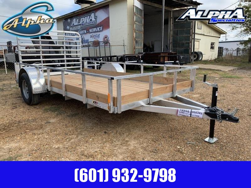 2019 Legend Aluminum 6 x 12 Single Axle Utility Trailer 3K GVWR
