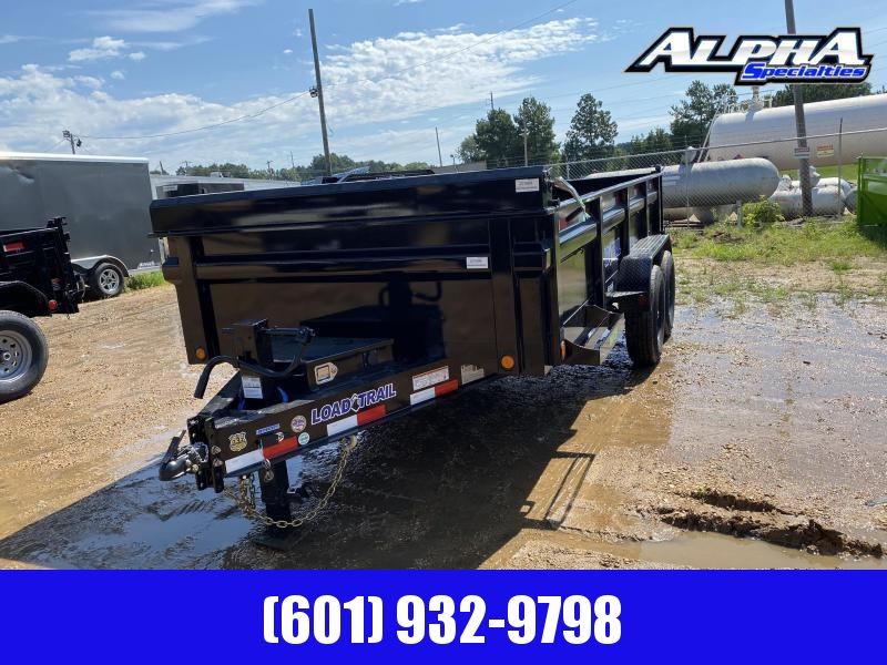 "2020 Load Trial 83"" x 16' Tandem Axle Dump Trailer 14K GVWR"