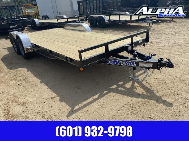 "2020 Load Trail CH07 Carhauler 83 x 18 w/ 3"" x 5"" Angle Frame Car / Racing Trailer 7K GVWR"