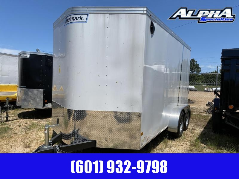 2020 Haulmark 7' x 14' Transport V-Nose Enclosed / Cargo Trailer 7K GVWR w/ UTV Package