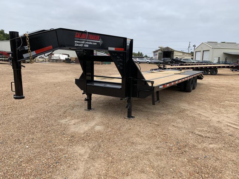 2019 Caliber Trailer Mfg GH830MST Equipment Trailer