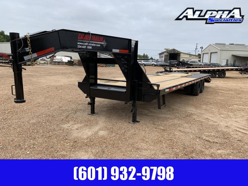 2019 Caliber 8.5 x 30 Gooseneck / Equipment Trailer