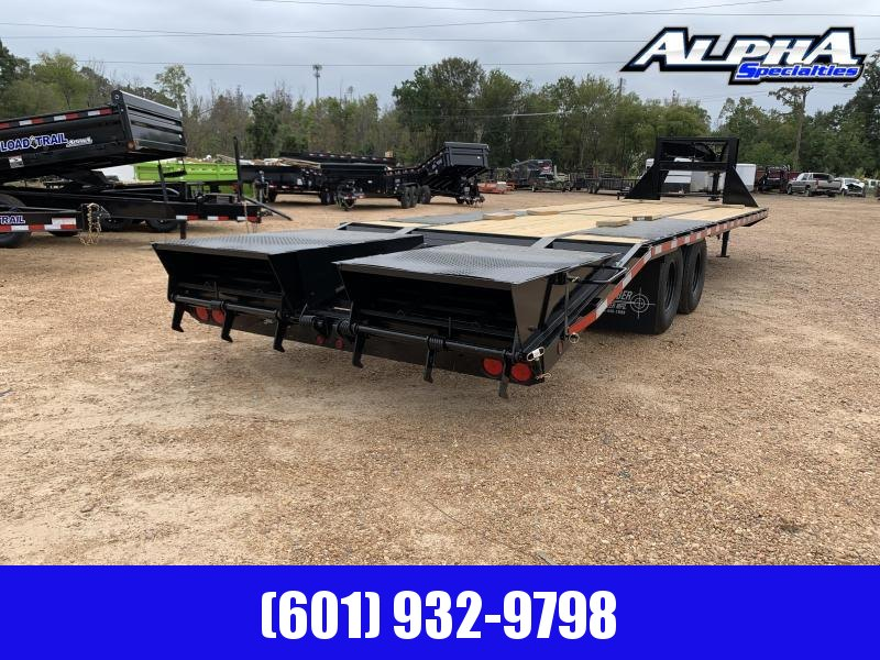 2019 Caliber Trailer Mfg GH830MST Equipment Trailer