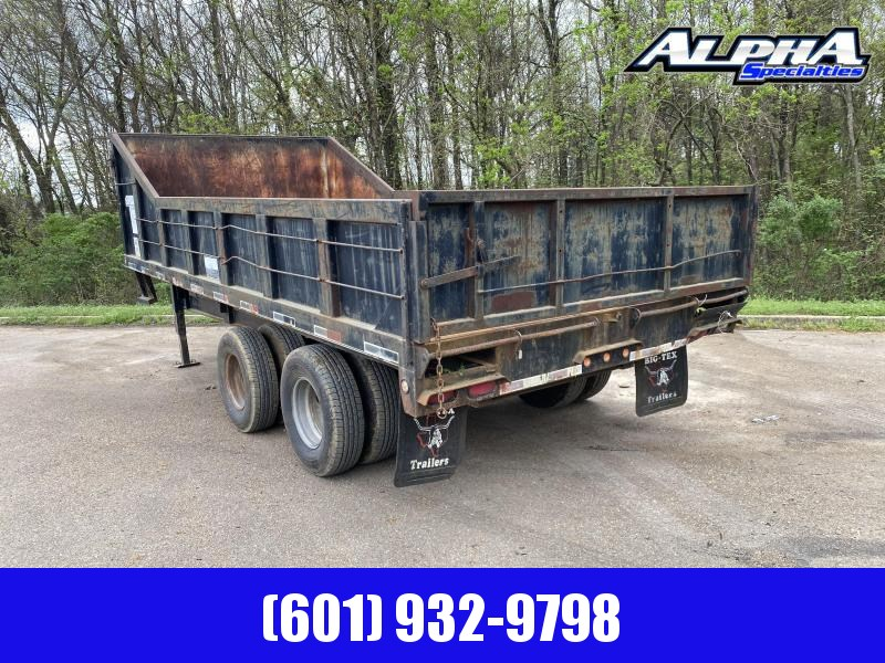 2020 Big Tex Trailers 8.5 X 18 25DU-18 Dump Trailer