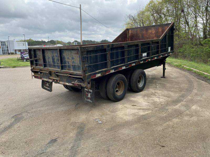 2020 Big Tex Trailers 8.5 X 18 25DU-18 Dump Trailer