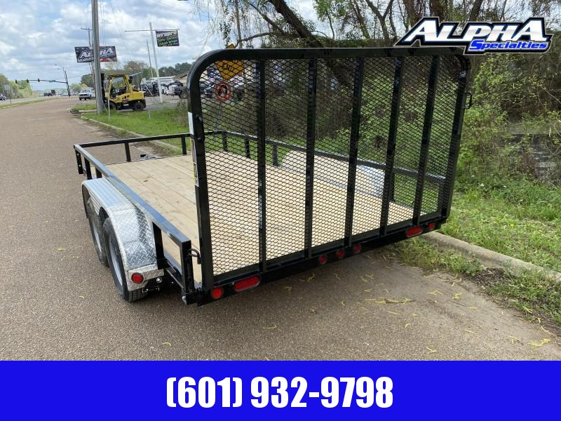 "2020 Load Trail UT07 - Tandem Axle Utility (4"" Channel Frame) 83 x 14 Utility Trailer"