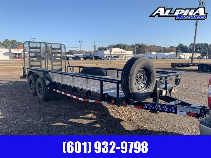 "Used 2019 Load Trail 83"" x 20' Car/Equip. Hauler 14k GVWR"