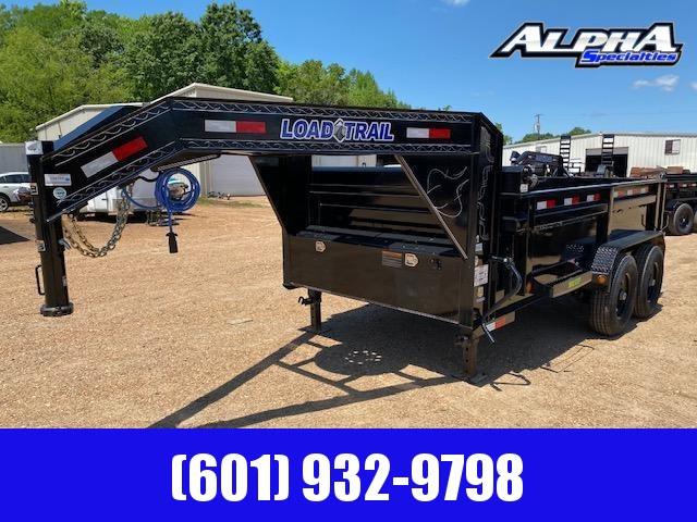 "2020 Load Trail 83"" x 12' Tandem Axle Gooseneck Dump Trailer 14K GVWR"