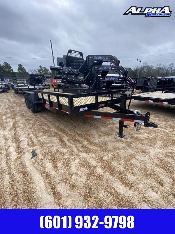 2020 Caliber Trailer Mfg 7' x 20' Equipment Trailer 14K GVWR