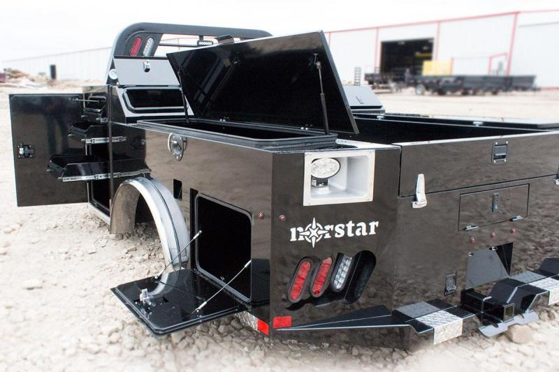 Sd Norstar Service Truck Bed Load Trail Trailers For