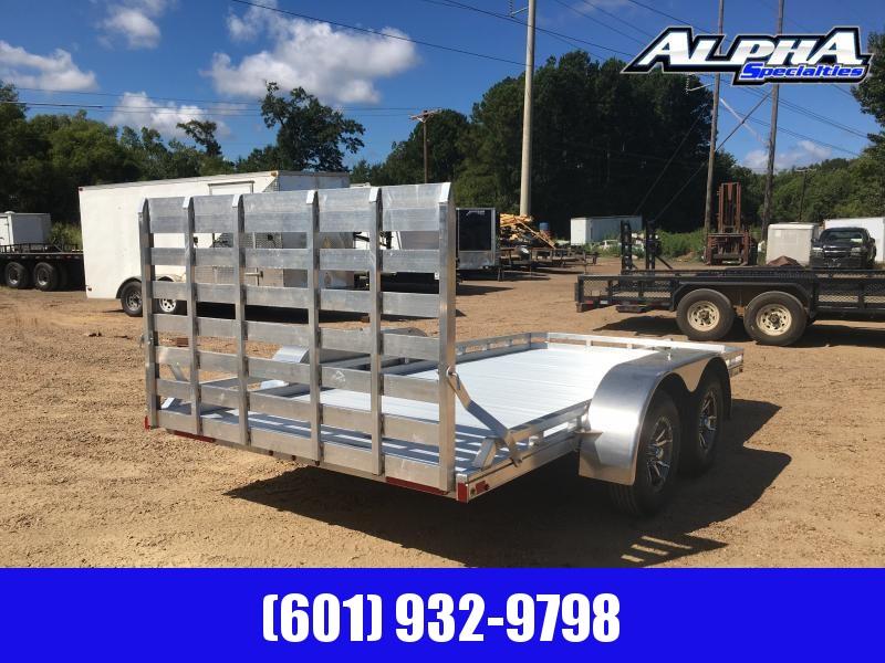 2019 Mission 6.5' x 14' Aluminum Utility/ATV/UTV Trailer 7K GVWR