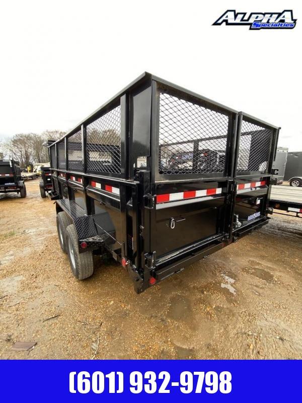 "2020 Load Trail 83"" x 16' w/ 24"" Sides Gooseneck Dump Trailer 14K GVWR"
