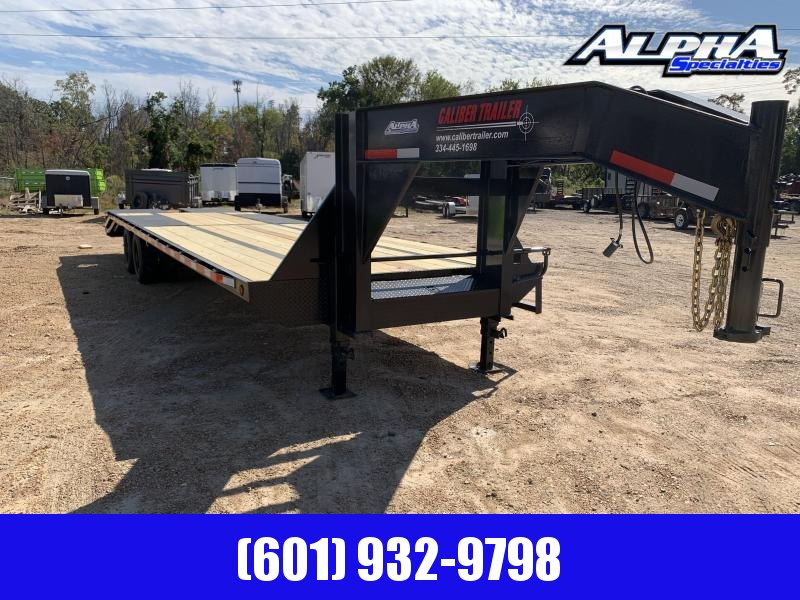 2020 Caliber 8.5' x 32' Gooseneck / Equipment Trailer