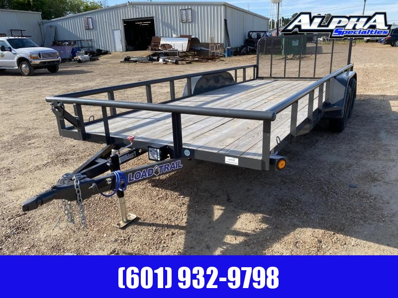 "2020 Load Trail  83 x 18 Tandem Axle Utility Trailer (2"" x 3"" Angle Frame) 7K GVWR"